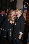 Sonia Friedman;  Maria Friedman; , The press night performance of the Menier Chocolate Factory's 'Merrily We Roll Along', following its transfer to the Harold Pinter Theatre, After-show party at Grace Restaurant, Gt. Windmill St. London. 1 May 2013.