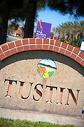 The City of Tustin Monument