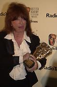 Lynda la Plante. BAFTA Television Awards, sponsored by the Radio Times, Grosvenor House. London. 13 May 2001. © Copyright Photograph by Dafydd Jones 66 Stockwell Park Rd. London SW9 0DA Tel 020 7733 0108 www.dafjones.com