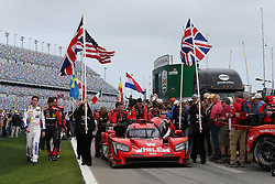 January 27, 2018 - Daytona, FLORIDE, ETATS UNIS - 31 WHELEN ENGINEERING RACING (USA) CADILLAC DPI FELIPE NASR (BRA) ERIC CURRAN (USA) MIKE CONWAY (GBR) STUART MIDDLETON  (Credit Image: © Panoramic via ZUMA Press)