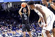 Green Bay forward Josh McNair (12) shoots a free throw against Xavier during an NCAA college basketball game, Wednesday, Dec. 4, 2019, in Cincinnati. Xavier defeated Green Bay 84-71 (Jason Whitman/Image of Sport)