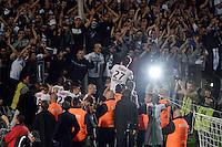 Adieux Marc PLANUS / Supporters Bordeaux    - 09.05.2015 - Bordeaux / Nantes  - 36eme journee de Ligue 1<br />Photo :  Caroline Blumberg / Icon Sport