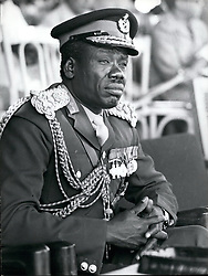 Jun. 06, 1977 - Adrisi; Uganda; General Mustafa Adrisi, Vice President and Minister for Defence in Uganda Government of Idi Amin. (Appoointed Vice-President by Idi Amin on January 26th 1977). Credits: Camerapix (Credit Image: © Keystone Press Agency/Keystone USA via ZUMAPRESS.com)