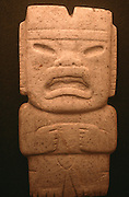 MEXICO, PRE-COLUMBIAN OLMEC, axe blade with human/jaguar face