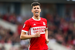 Daniel Ayala of Middlesbrough - Mandatory by-line: Robbie Stephenson/JMP - 12/05/2018 - FOOTBALL - Riverside Stadium - Middlesbrough, England - Middlesbrough v Aston Villa - Sky Bet Championship