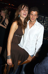 SOPHIA ROGGE and SASHA PESKO at a party hosted by Tatler magazine to celebrate the publication of the 2004 Little Black Book held at Tramp, 38 Jermyn Street, London SW1 on 10th November 2004.<br />