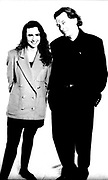 tony wilson and his partner yvette livesey photographed in the basement of the hacienda. they went on to form in the city the uk's music convention