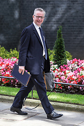 © Licensed to London News Pictures . 05/07/2016 . London , UK . MICHAEL GOVE leaves . Conservative Party cabinet meeting on Downing Street , London . Photo credit: Joel Goodman/LNP