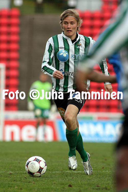 22.05.2008, Ratina, Tampere, Finland..Veikkausliiga 2008 - Finnish League 2008.Tampere United - FC KooTeePee.Jani Lauretsalo - KooTeePee.©Juha Tamminen.....ARK:k