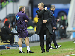 Derby Manager Steve McClaren, Derby County v Reading, FA Cup 5th Round, The Ipro Stadium, Saturday 14th Febuary 2015