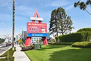 Angel Stadium Entrance Sign at State College Blvd