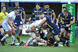 RUGBY - CHAMPIONS CUP - 2017<br /> moon (ben)<br /> yato (peceli)<br /> horstmann (kai)<br /> kayser (benjamin)<br /> Clermont / Exeter le 21/01/2017<br /> Photo : Pierre Lahalle