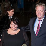 NLD/Scheveningen/20131130 - Inloop concert 200 Jaar Koningrijk der Nederlanden, Sharon Dijksma en partner Thomas Windmulder