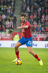 November 15, 2018 - Gdansk, Pomorze, Poland - Filip Novak (22) during the international friendly soccer match between Poland and Czech Republic at Energa Stadium in Gdansk, Poland on 15 November 2018  (Credit Image: © Mateusz Wlodarczyk/NurPhoto via ZUMA Press)