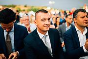 Rocco Casalino durante la festa nazionale dal Partito politico Articolo 1. Roma 19 settembre 2018. Christian Mantuano / OneShot