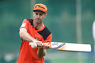 Perth Scorchers captain Simon Katich during the Perth Scorchers Training Session held at the Sawai Mansingh Stadium in Jaipur on the 28th September 2013<br /> <br /> Photo by Shaun Roy-CLT20-SPORTZPICS <br /> <br /> Use of this image is subject to the terms and conditions as outlined by the CLT20. These terms can be found by following this link:<br /> <br /> http://sportzpics.photoshelter.com/image/I0000NmDchxxGVv4