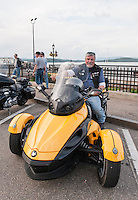 91st annual Motorcycle Rally Week in Laconia, NH  ©2014 Karen Bobotas Photographer