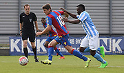 Jake Gray on the attack during the Final Third Development League match between U21 Crystal Palace and U21 Coventry City at Selhurst Park, London, England on 12 October 2015. Photo by Michael Hulf.