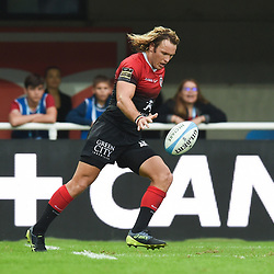 Werner KOK of Toulouse  during the Top 14 match between Montpellier and Toulouse on October 19, 2019 in Montpellier, France. (Photo by Alexandre Dimou/Icon Sport) - Werner KOK - Altrad Stadium - Montpellier (France)