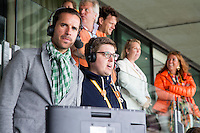 DEN HAAG -WORLD CUP Hockey 2014.  perstribune. Belgische journalist Floris Geerts. COPYRIGHT  KOEN SUYK