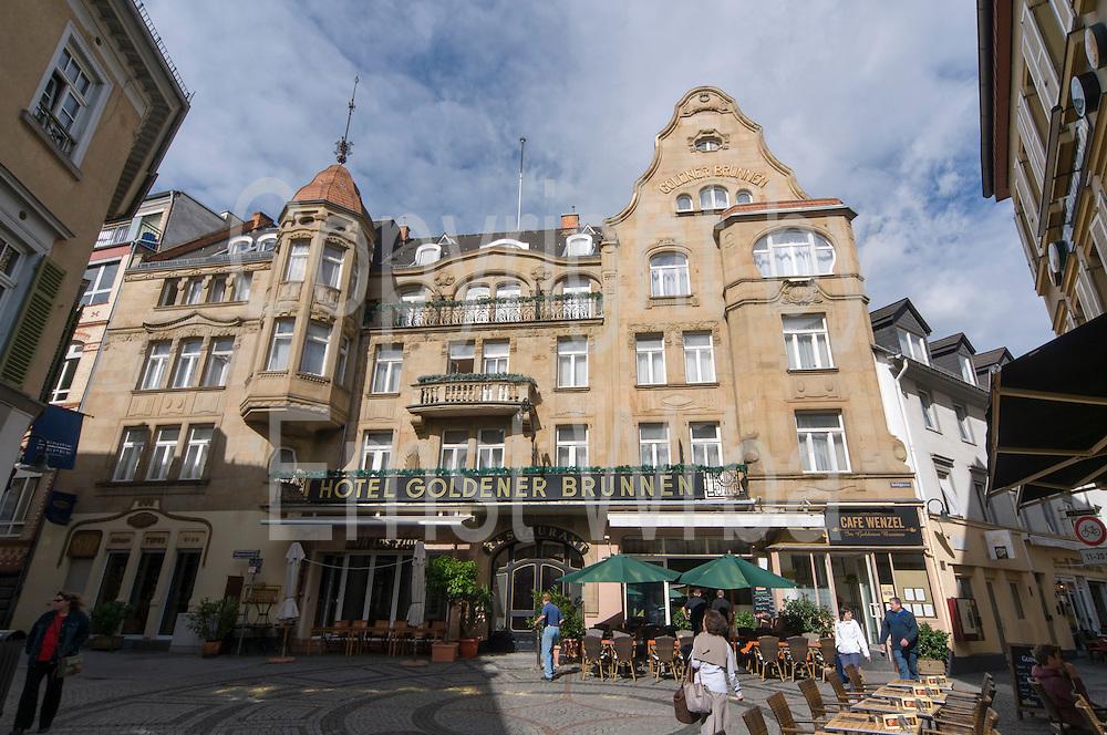 Hotel Goldener Brunnen, Goldgasse, Altstadt, Wiesbaden, Hessen, Deutschland | hotel Goldener Brunnen, Goldgasse, old town, Wiesbaden, Hesse, Germany