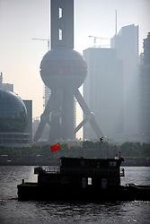 CHINA SHANGHAI 24MAY10 - Pudong skyline across from the Hunangpu River, seen from the Bund in downtown Shanghai...jre/Photo by Jiri Rezac..© Jiri Rezac 2010