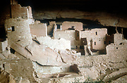 Cliff Palace: 12th -13th century. North American Indian, Mesa Verde, Colorado