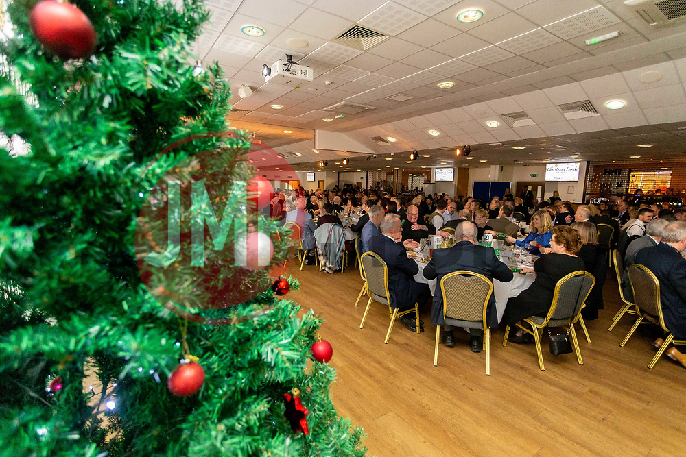 General view of the Christmas tree at the annual Exeter Chiefs Foundation Christmas Dinner at Sandy Park - Ryan Hiscott/JMP - 07/12/2018 - RUGBY - Sandy Park - Exeter, England - Exeter Chiefs Foundation Christmas Dinner with David Flatman