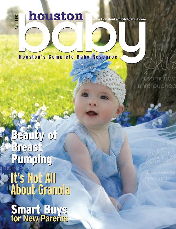 Houston Baby April 2006  Cover