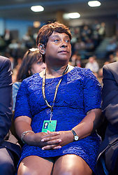 Labour Party Annual Conference 2013. <br /> Doreen Lawrence listens to a speech during the Labour Party Annual Conference 2013, Brighton, United Kingdom. Wednesday, 25th September 2013. Picture by Elliot Franks / i-Images
