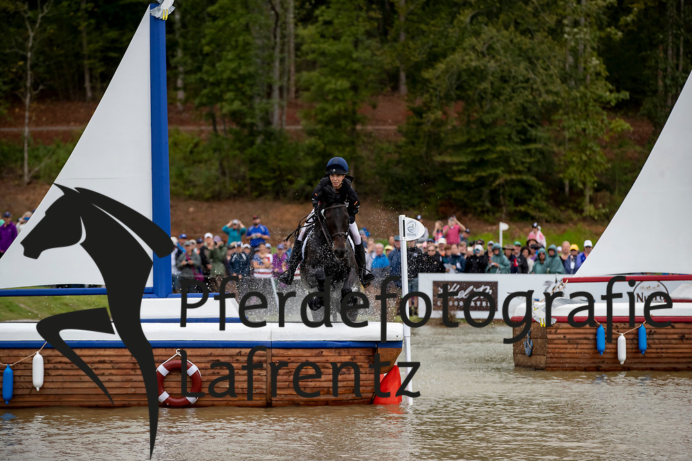 ATTINGER Patrizia (SUI), Hilton P<br /> Tryon - FEI World Equestrian Games™ 2018<br /> Vielseitigkeit Teilprüfung Gelände/Cross-Country Team- und Einzelwertung<br /> 15. September 2018<br /> © www.sportfotos-lafrentz.de/Dirk Caremans