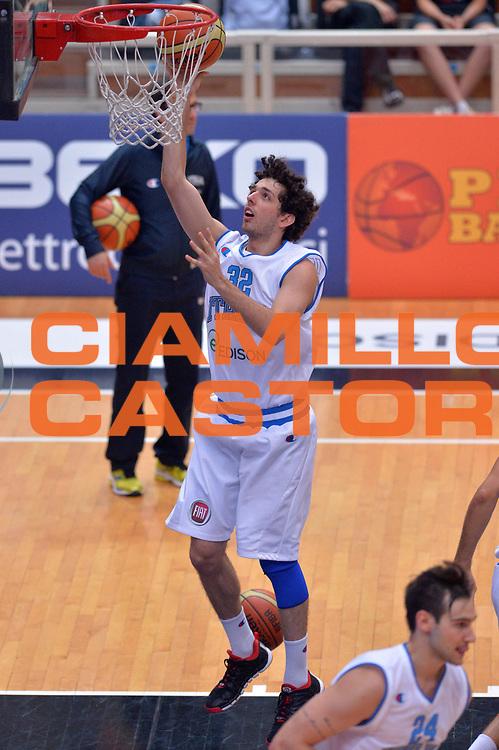 DESCRIZIONE : Trento Nazionale Italia Uomini Trentino Basket Cup Italia Germania Italy Germany<br /> GIOCATORE : Amedeo Della Valle<br /> CATEGORIA : Pregame<br /> SQUADRA : Italia Italy<br /> EVENTO : Trentino Basket Cup<br /> GARA : Italia Germania Italy Germany<br /> DATA : 10/07/2014<br /> SPORT : Pallacanestro<br /> AUTORE : Agenzia Ciamillo-Castoria/GiulioCiamillo<br /> Galleria : FIP Nazionali 2014<br /> Fotonotizia : Trento Nazionale Italia Uomini Trentino Basket Cup Italia Germania Italy Germany