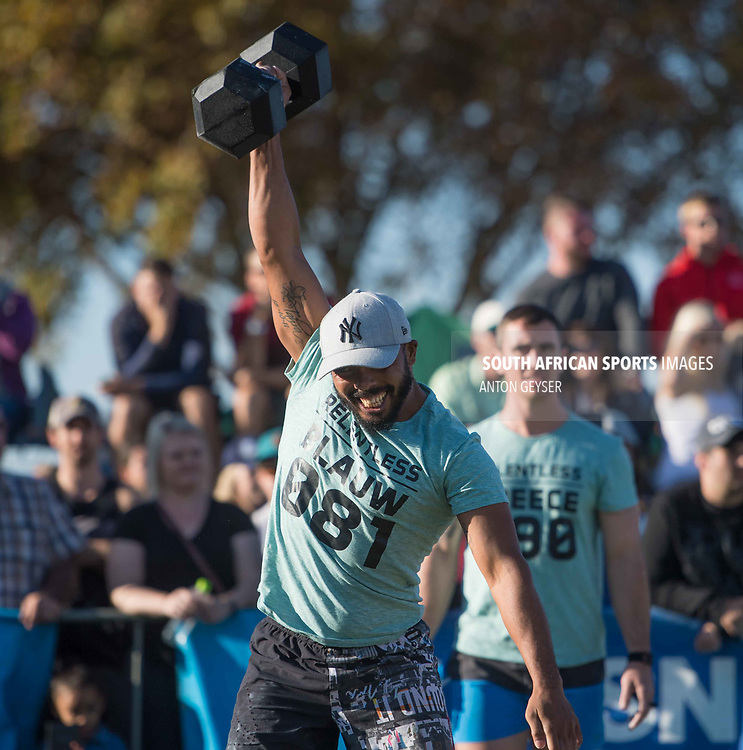 PRETORIA, SOUTH AFRICA - APRIL 29:  During the men's WOD 5 at the Pretoria Throw Down in Waterkloof High School on April 29, 2017 in Pretoria, South Africa. (Photo by Anton Geyser/Gallo Images)