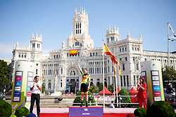 Stage winner, Chloe Hosking (AUS) at La Madrid Challenge by La Vuelta 2019 - Stage 2, a 98.6 km road race in Madrid, Spain on September 15, 2019. Photo by Sean Robinson/velofocus.com