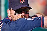 October 1, 2009: Minnesota Twins' Jason Kubel (16) during the MLB game between the Minnesota Twins and Detroit Tigers at Comerica Park, Detroit, Michigan.