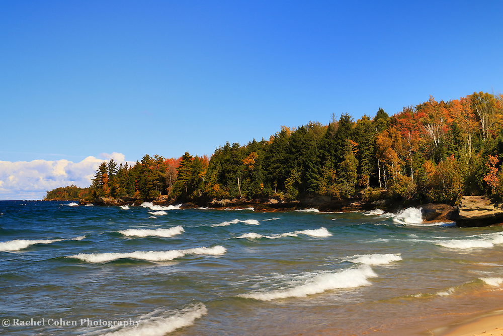 &quot;Great Lakes Autumn Waves&quot;<br />