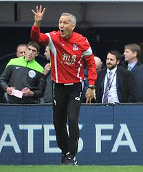 Crystal Palace v Watford Emirates FA Cup Semi Final Wembley Stadium Sunday 24th April 2016, Score Palace 2-1 (Bolasie, Wickham) Watford 1 (Deeney)