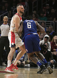 December 9, 2017 - Los Angeles, California, United States of America - of the Los Angeles Clippers during their NBA game with the Washington Wizards on Saturday December 9, 2017 at the Staples Center in Los Angeles, California. Clippers defeat Wizards, 113-112. JAVIER ROJAS/PI (Credit Image: © Prensa Internacional via ZUMA Wire)