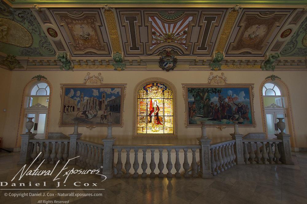 Inside the Wedding Palace in Havana, Cuba.