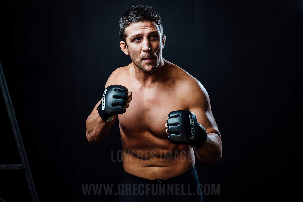 Mixed Martial Arts Fighter Alex Reid. UK, 27th October 2014. Photo by Greg Funnell.