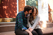 October 25, 2014 - 20141025 - Ali and Mike's engagement photo shoot around the West Village, N.Y.