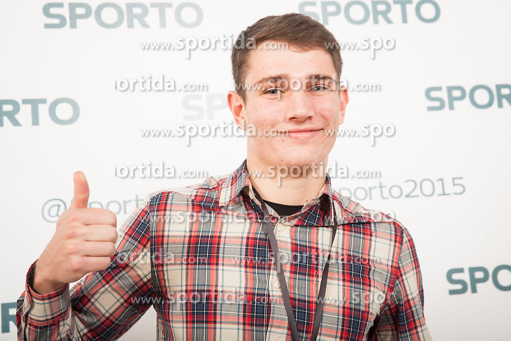 Robert Renner during Sports marketing and sponsorship conference Sporto 2015, on November 19, 2015 in Hotel Slovenija, Congress centre, Portoroz / Portorose, Slovenia. Photo by Vid Ponikvar / Sportida