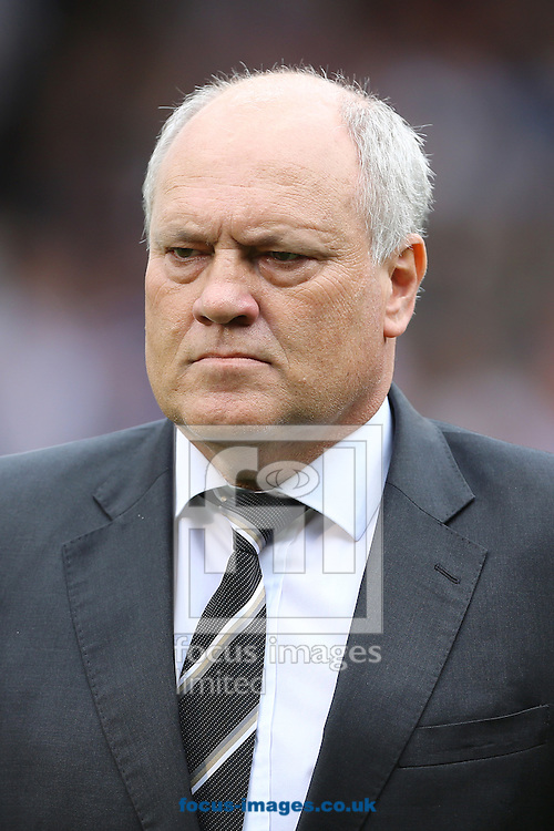 Picture by Richard Calver/Focus Images Ltd +447792 981244<br /> 05/10/2013<br /> Manager of Fulham, Martin Jol during the Barclays Premier League match between Fulham and Stoke City at Craven Cottage, London.