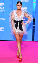 Sofia Reyes attending the MTV Europe Music Awards 2018 held at the Bilbao Exhibition Centre, Spain