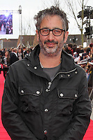 LEAVESDEN - MARCH 31: David Baddiel attends the Worldwide Grand Opening of the Warner Bros. Studio Tour London  The Making of Harry Potter at Leavesden Studios, Watford, UK. March 31, 2012. (Photo by Richard Goldschmidt)