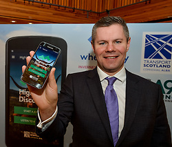 Finance Secretary Derek MacKay MSP launched the brand new A9 app, which allows visitors to see the culture and history surrounding Scotland's iconic route to the Highlands.<br />
