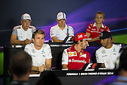 September 4-7, 2014 : Italian Formula One Grand Prix - Driver's press conference