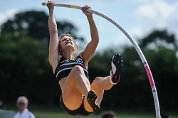 Blackheath & Bromley's Rachael Arnheim in the Pole Vault, UK Women's Athletics League - Premier Division Match 3, Norman Park Bromley, UK on 03 August 2013. Photo: Simon Parker