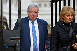 © Licensed to London News Pictures. 22/03/2016. London, UK. Transport Secretary Patrick McLoughlin attending a cabinet meeting in Downing Street on Tuesday, 22 March 2016. Photo credit: Tolga Akmen/LNP