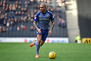 `CA9` `RUN` during the EFL Sky Bet League 1 match between Milton Keynes Dons and Charlton Athletic at stadium:mk, Milton Keynes, England on 17 February 2018. Picture by Dennis Goodwin.